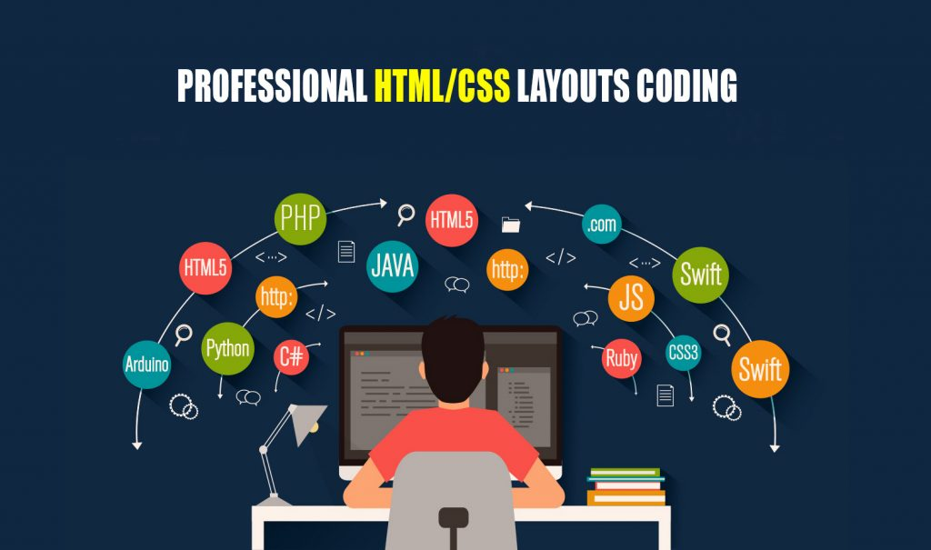 Professional HTML/CSS Layouts Coding